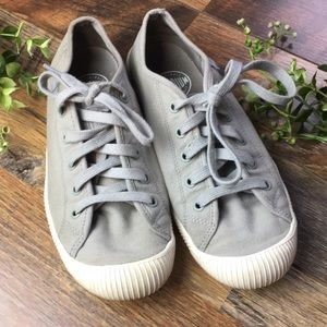 Palladium Gray Sneakers Size 7
